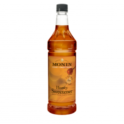 Monin Honey Sweetener (1L Bottle)
