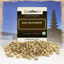 Organic Bali 'Blue Moon' Green Coffee