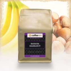 Banana Hazelnut Flavored Coffee
