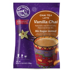 Big Train No Sugar Added Vanilla Chai (3 lb Bag)
