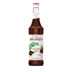 Monin Chocolate Mint Coffee Syrup, 750 ml