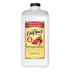 Davinci Invigorator Raspberry Pomegranite (Half-Gallon)