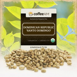Organic 'Santo Domingo' Green Coffee