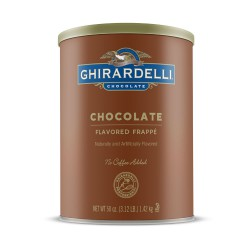 Ghirardelli Chocolate Flavored Frappé 50oz
