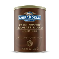 Ghirardelli Sweet Ground Chocolate & Cocoa 50oz