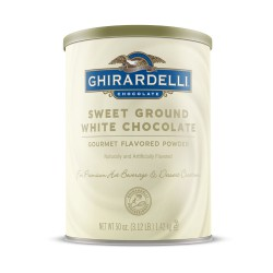 Ghirardelli Sweet Ground White Chocolate Flavor Mix