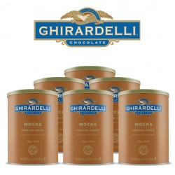Ghirardelli Mocha Frappé, Case of 6