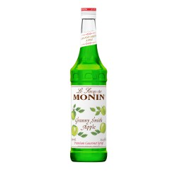 Monin Granny Smith Apple Coffee Syrup, 750 ml