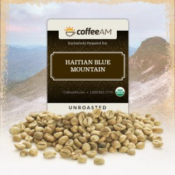 Organic Haiti Blue Green Coffee