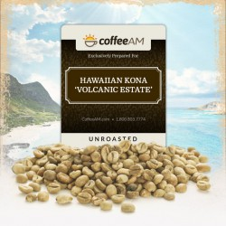 Kona 'Volcanic Estate' Green Coffee