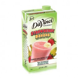 DaVinci Strawberry Banana Smoothie (64oz)