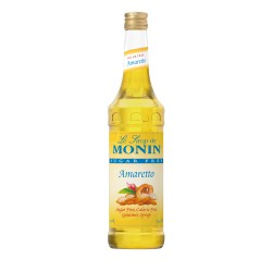 Monin Sugar-Free Amaretto Coffee Syrup, 750 ml