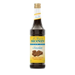 Monin Sugar-Free Chocolate Coffee Syrup, 750 ml