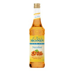 Monin Sugar-Free Hazelnut Coffee Syrup, 750 ml