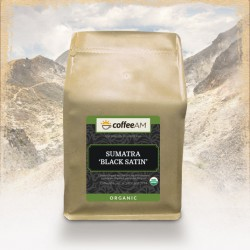 Organic Sumatra 'Black Satin Roast' Fair Trade Coffee