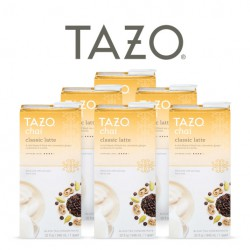 Tazo Chai Concentrate Case of 6 32oz Cartons
