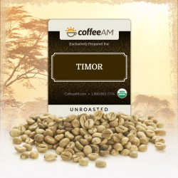Fair-Trade Organic Timor Green Coffee