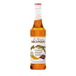 Monin Toasted Almond Mocha Coffee Syrup, 750 ml
