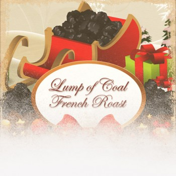 Lump of Coal French Roast Coffee-12 Days of Coffee