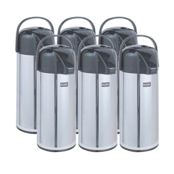 Case of 6 BUNN AIRPOTS, 2.2L