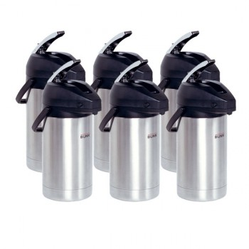 Case of 6 BUNN AIRPOTS, SST 3.0L
