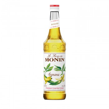 Monin Banana Coffee Syrup, 750 ml
