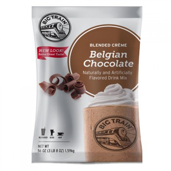 Big Train Belgian Chocolate Blended Creme (3lb Bag)