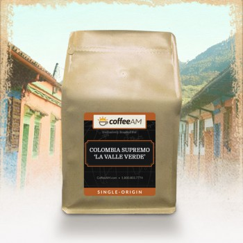 Decaf Colombia Supremo 'La Valle Verde' Coffee