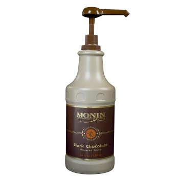 Monin Dark Chocolate Sauce (64oz Bottle)