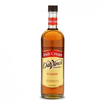 DaVinci Irish Cream Syrup 750ml
