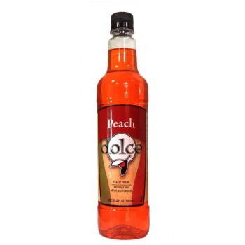 Dolce Peach Syrup 750ml