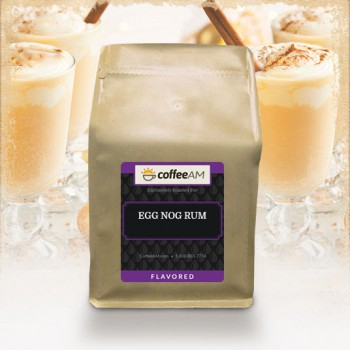 Egg Nog Rum Flavored Coffee