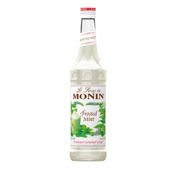 Monin Frosted Mint Coffee Syrup, 750 ml