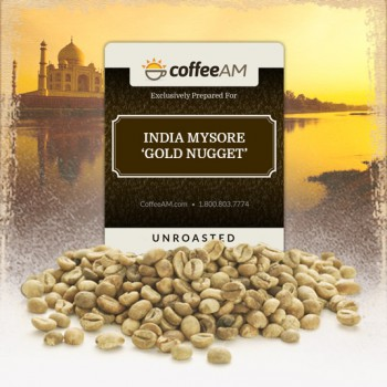 India Mysore 'Gold Nugget' Green Coffee
