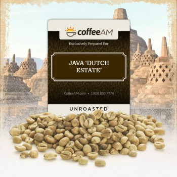 Java Dutch Estate Green Coffee