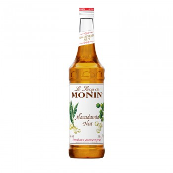 Monin Macadamia Nut Coffee Syrup, 750 ml