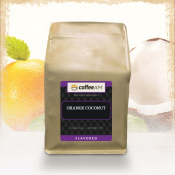 Orange Coconut Flavored Coffee