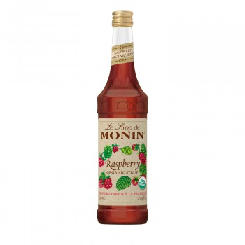 Organic Monin Raspberry Syrup 750ml