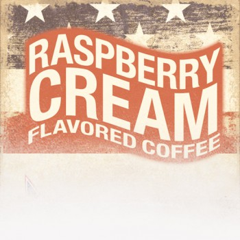 Raspberry Cream Flavored Coffee (Patriotic Theme)