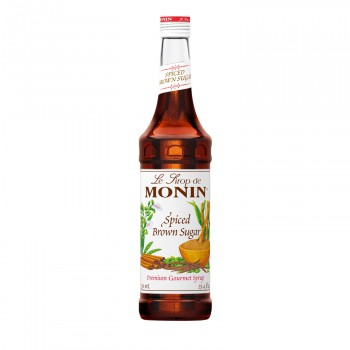 Monin Spiced Brown Sugar Syrup 750ml