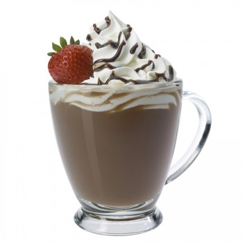Strawberry Dipped Mocha - Lite