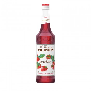 Monin Strawberry Coffee Syrup, 750 ml