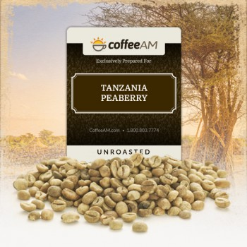 Tanzania Peaberry Green Coffee