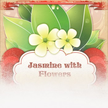 Jasmine with Flowers Tea (Valentine's Day Theme)