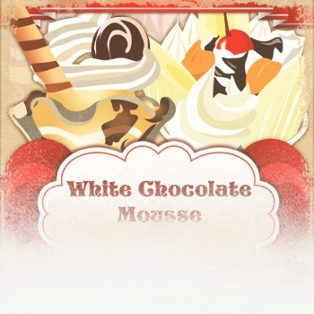 White Chocolate Mousse Flavored Coffee (Valentine's Day Theme)