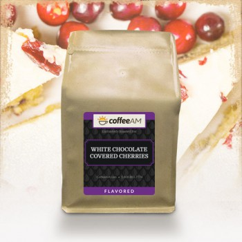 White Chocolate Covered Cherries Flavored Coffee
