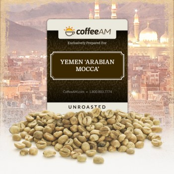 Yemen Arabian Mocca Green Coffee